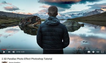 Tutorial: 2.5D Parallax Photo Effect