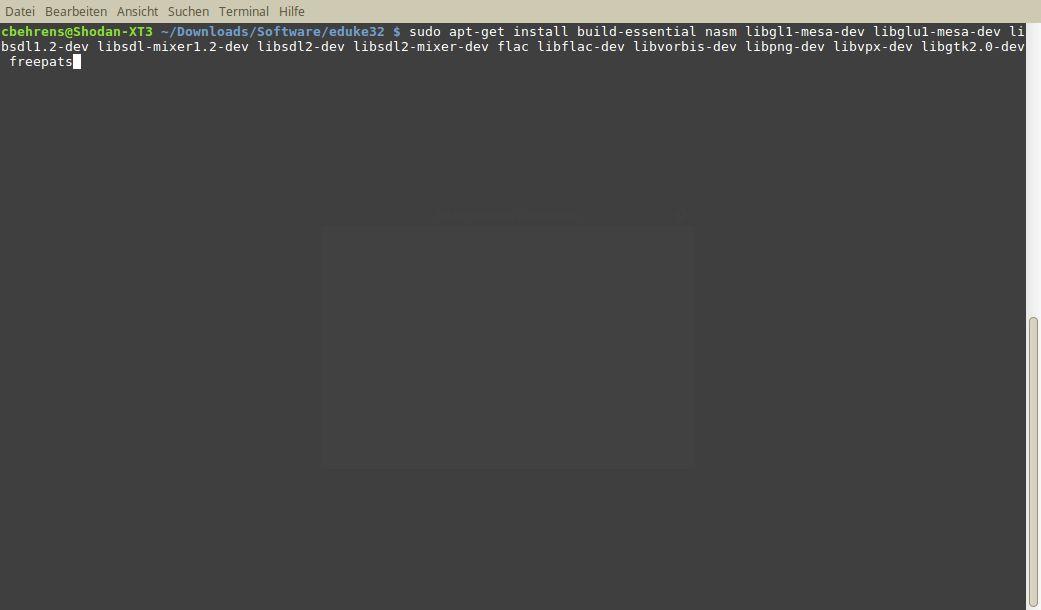Download und Installation fehlender Pakete zur Auflösung von Abhängigkeiten
